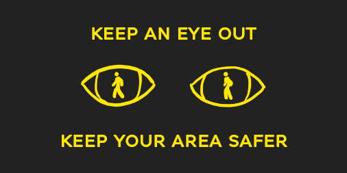 Keep your area safer - Twitter