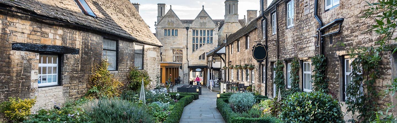 Street scene in Northamptonshire